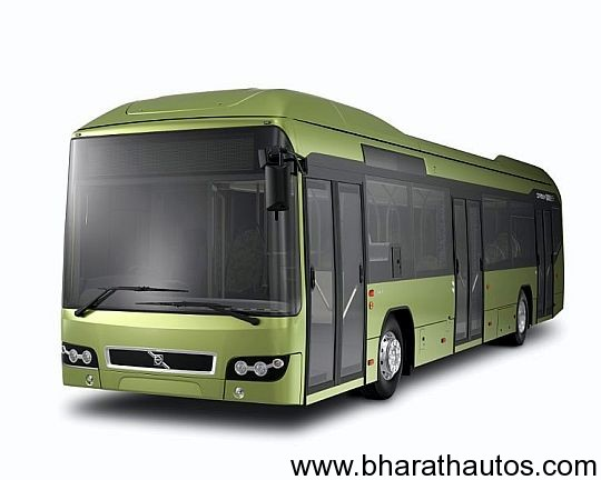 Volvo 7700 diesel-electric hybrid bus