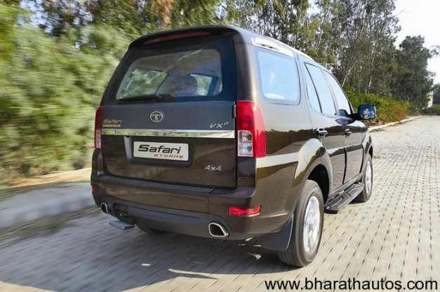 Tata Safari Storme - RearView