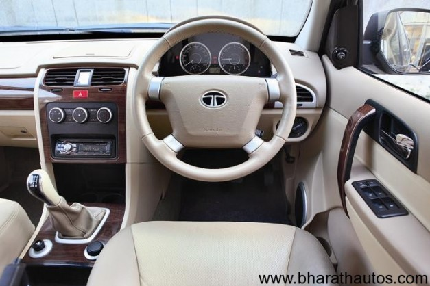 Tata Safari Storme - InteriorView