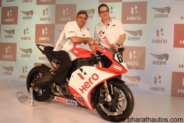 Hero MotoCorp joins hand with Erik Buell Racing