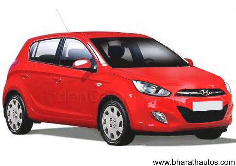 hyundai i20 bookings suspended new 2012 fluidic i20 round the corner. Black Bedroom Furniture Sets. Home Design Ideas