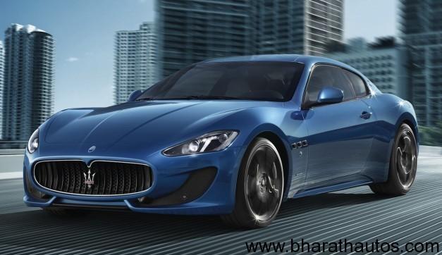 2013 Maserati GranTurismo Sport - FrontView