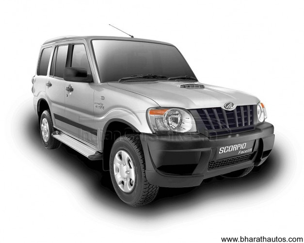 A-speculative-render-of-the-Mahindra-Scorpio-SUV-facelift