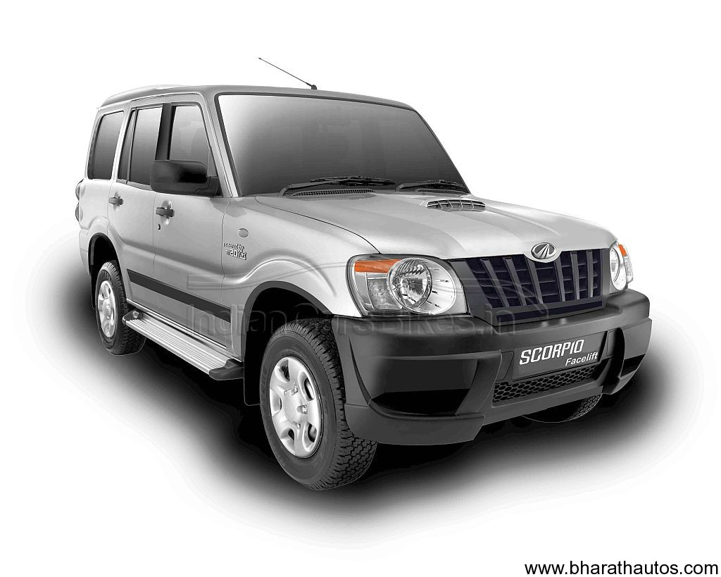 Mahindra working on a new scorpio suv codenamed t026 launch by early 2014