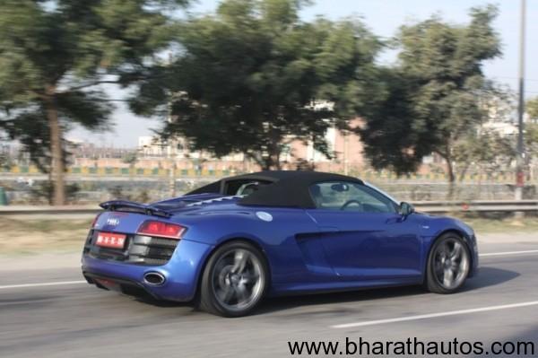 Audi R-Drive India