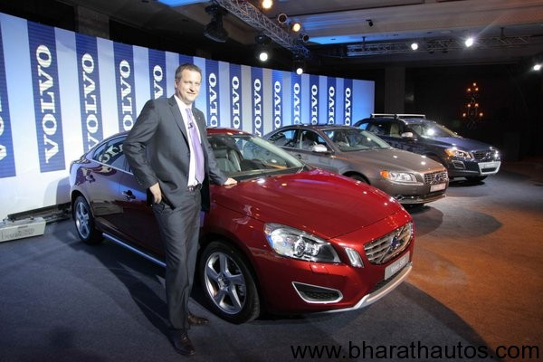 Volvo India launches S60, S80 and XC60 with new D3 diesel variant
