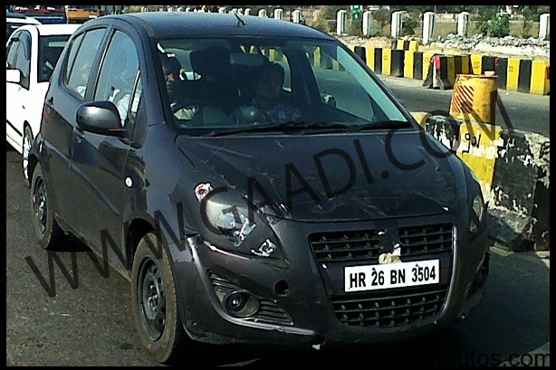 New 2012 Maruti Suzuki Ritz facelift - FrontView
