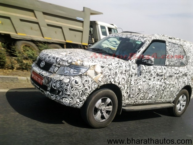 Tata Safari Storme Automatic version on Tata Motors cards!