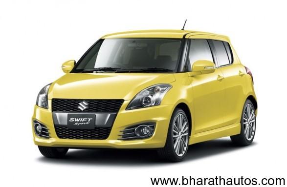 Suzuki Swift Sport 5-door - FrontView