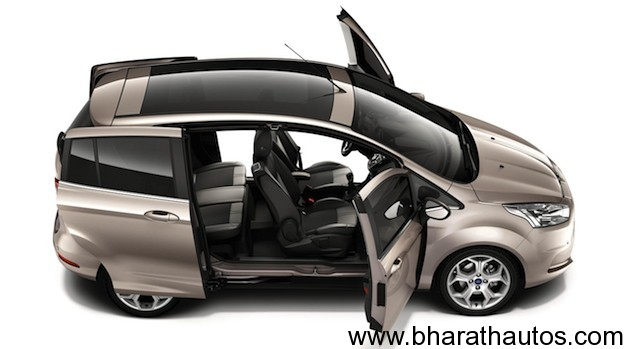 Ford B-MAX's Easy Access Door System