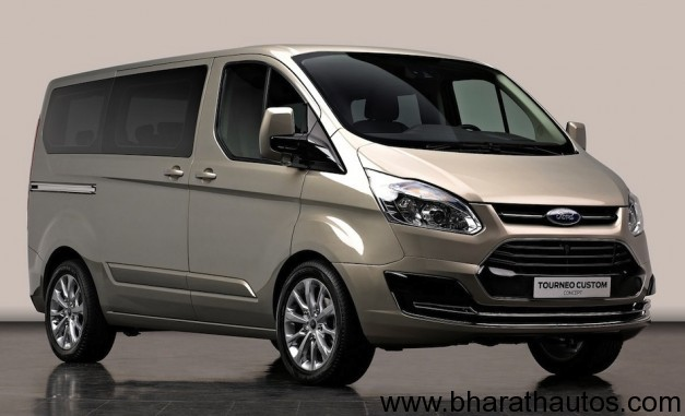 2012 Ford Tourneo Custom Concept - FrontView