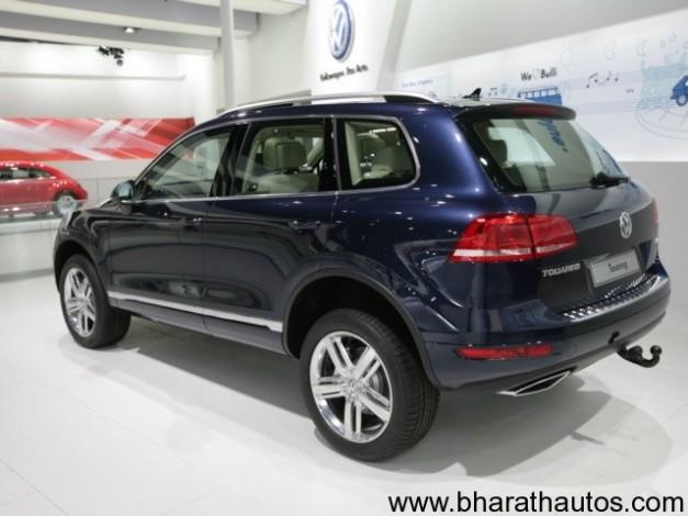 New 2012 Volkswagen Touareg SUV more details revealed