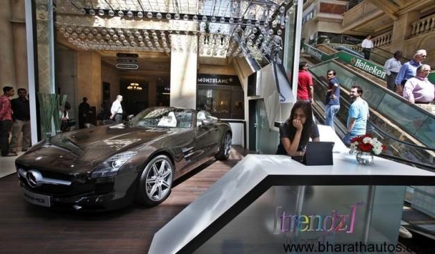 Mercedes Benz Inaugurates Trendz in Bangalore