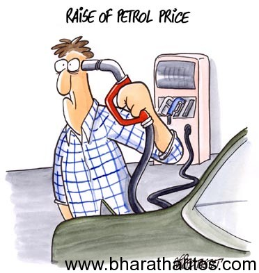 Petrol prices might go-up by Rs.3