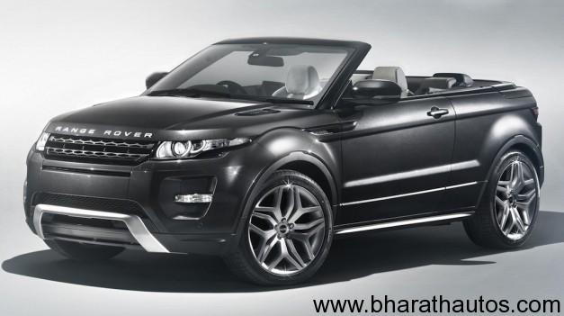 Range Rover Evoque Convertible Concept - FrontView