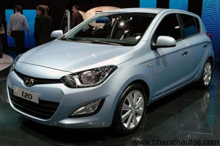 New Hyundai i20 facelift launch scheduled for June-July, 2012 in India