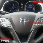 2012 Hyundai Santa Fe interiors