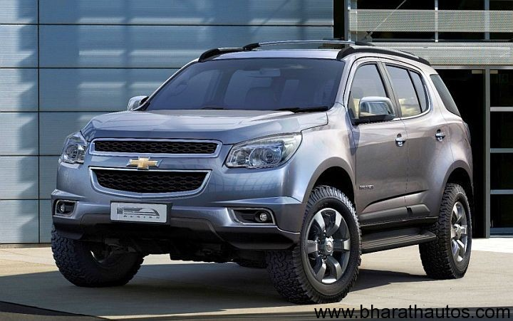 Chevrolet Trailblazer production model revealed