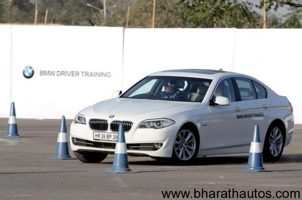 BMW Driver Training programme in India