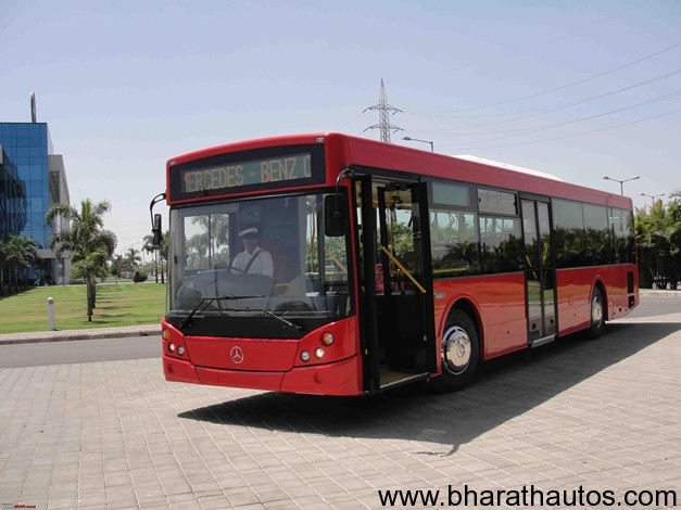 Mercedes-Benz City Bus in India - 003