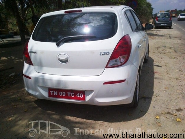 New facelift Hyundai i20 - RearView