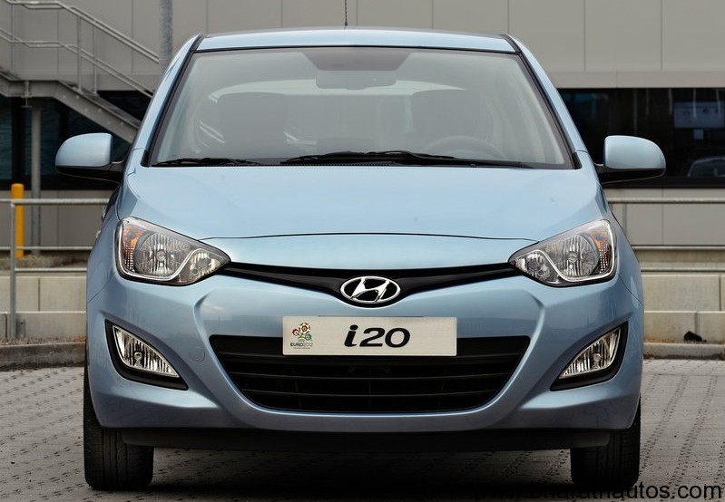 New Hyundai i20 facelift - 001