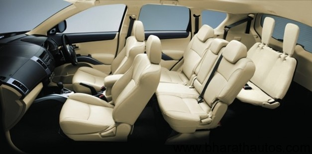 2012 Mitsubishi Outlander 7 Seater Crossover Launched At