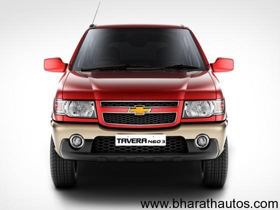 New Chevrolet Tavera Neo 3 BS IV MPV