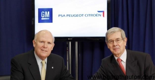 Peugeot-Citroen and GM form strategic alliance