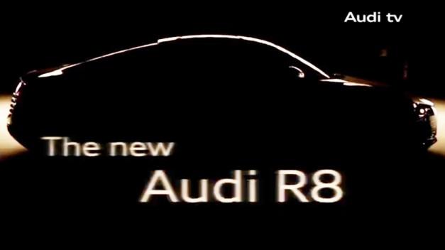 New 2013 Audi R8 Facelift