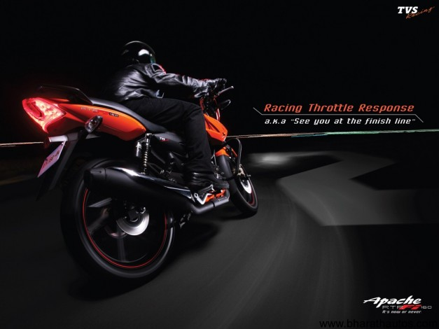 TVS Apache series of motorcycles - 002