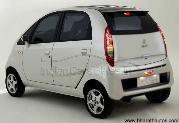 2013 Tata Nano diesel rendered image