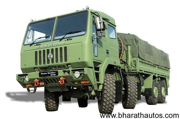 Ashok Leyland - Super Stallion 8x8 picture
