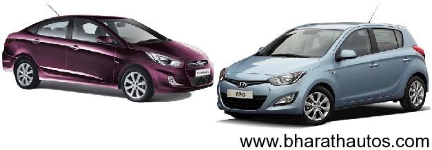 Hyundai Verna & i20