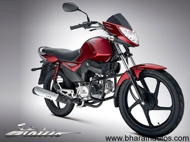 Mahindra Stallio 110 commuter motorcycle - 001