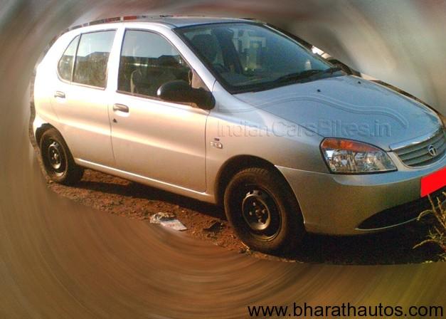 Tata Indica 90 facelift spyshot - FrontView