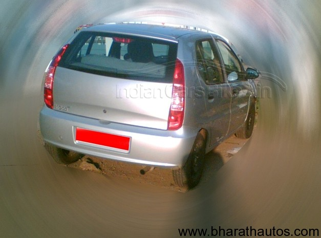 Tata Indica 90 facelift spyshot - RearView