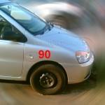Tata Indica 90 facelift spyshot - 003