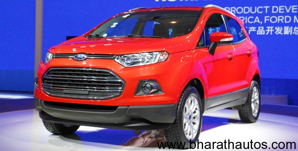 beijing Auto expo 2012 ford eco sport