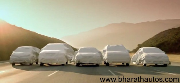 Nissan teases 5 new cars in the next 15 months