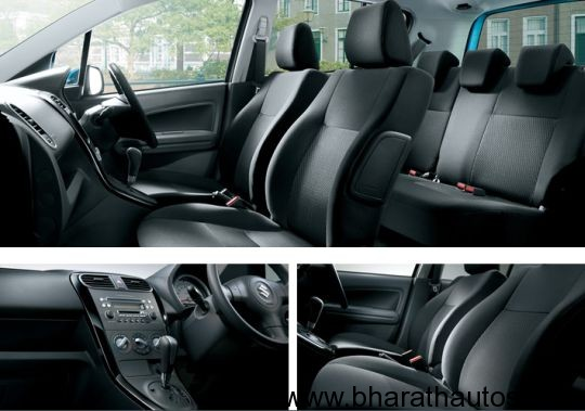 2012 Maruti Ritz Facelift - InteriorView