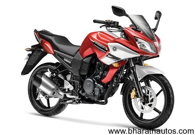 Also see     2012 Yamaha FZ Series launched  FZ-S gets new Fiery    Yamaha Fazer 150cc Red
