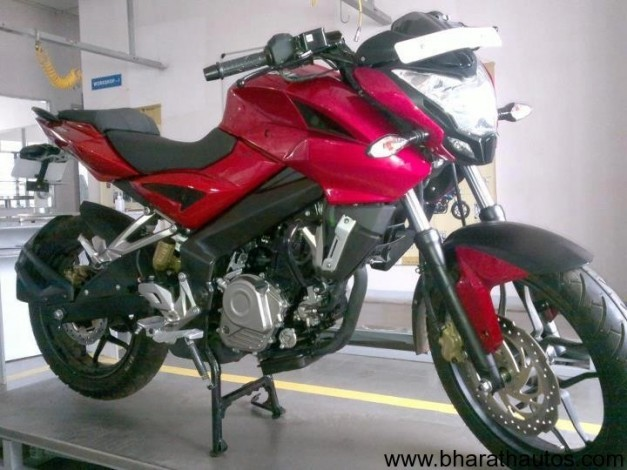 Bajaj Pulsar 200NS production model