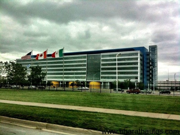 General Motors Technial Center in Warren, Michigan