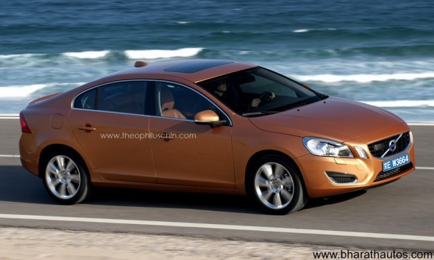 Volvo S60L - FrontView