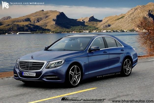 2013 Mercedes-Benz S-Class facelift - FrontView