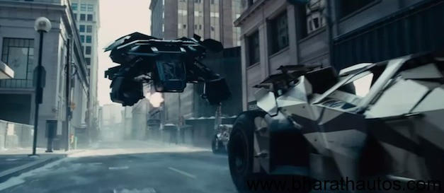 New Dark Knight Rises trailer features impressive vehicles