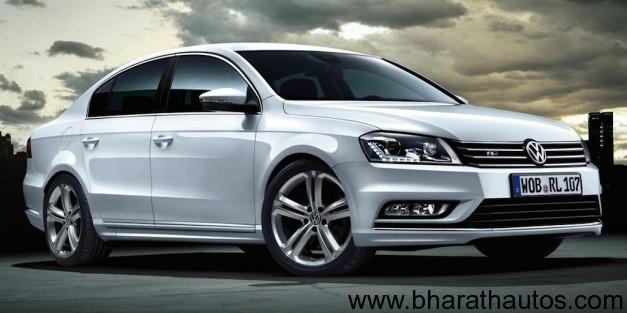 Volkswagen Passat R-Line - FrontView