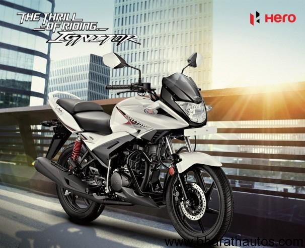 hero motocorp updates website  ignitor details brochure  price