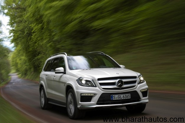 2012 Mercedes-Benz GL63 AMG - FrontView